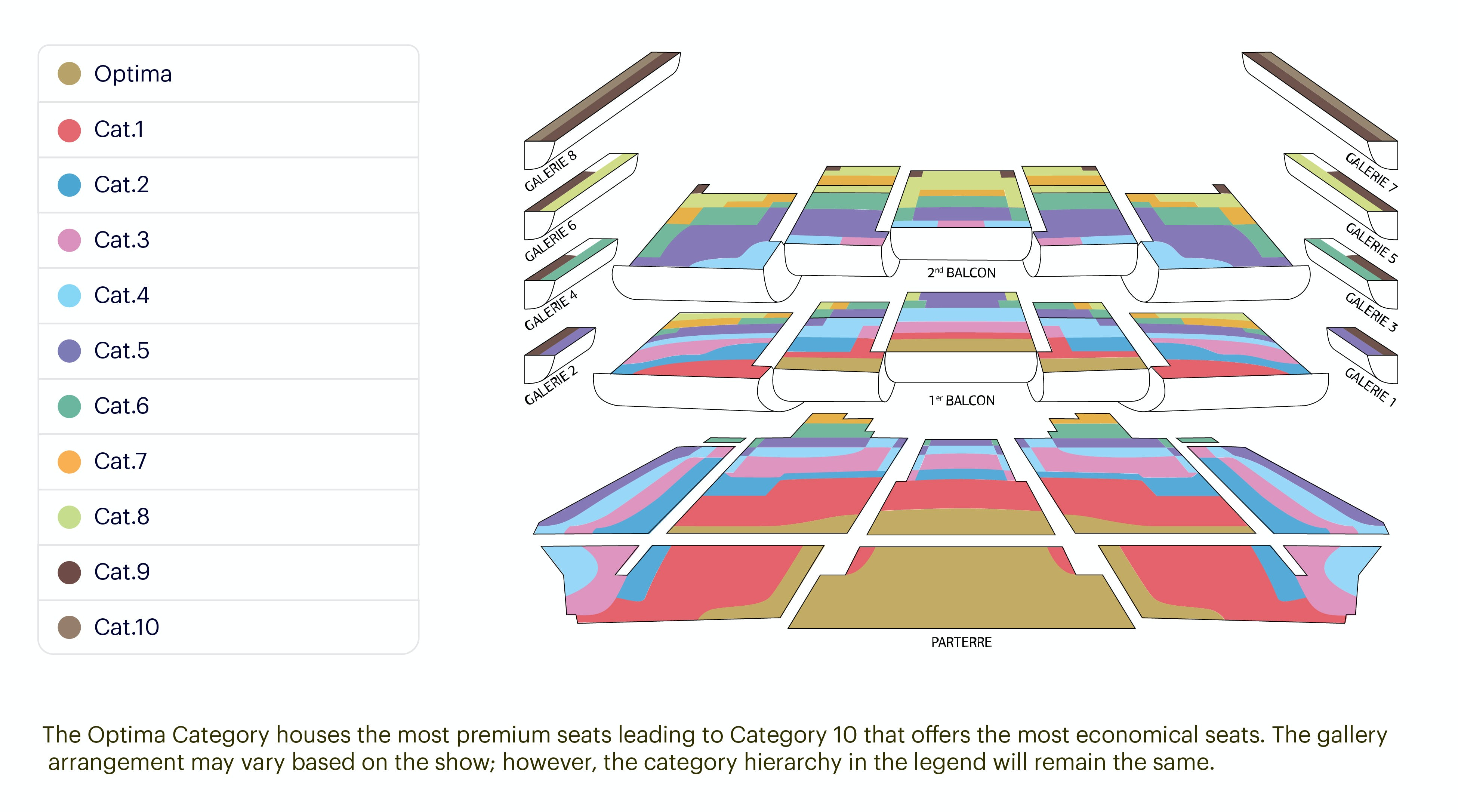 Palais Garnier Seating Chart