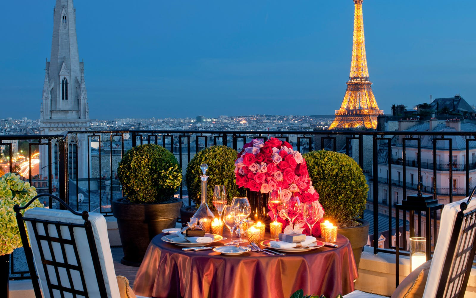 Meal at the Eiffel
