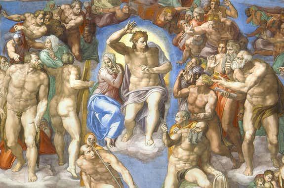 Sistine Chapel The Last Judgement
