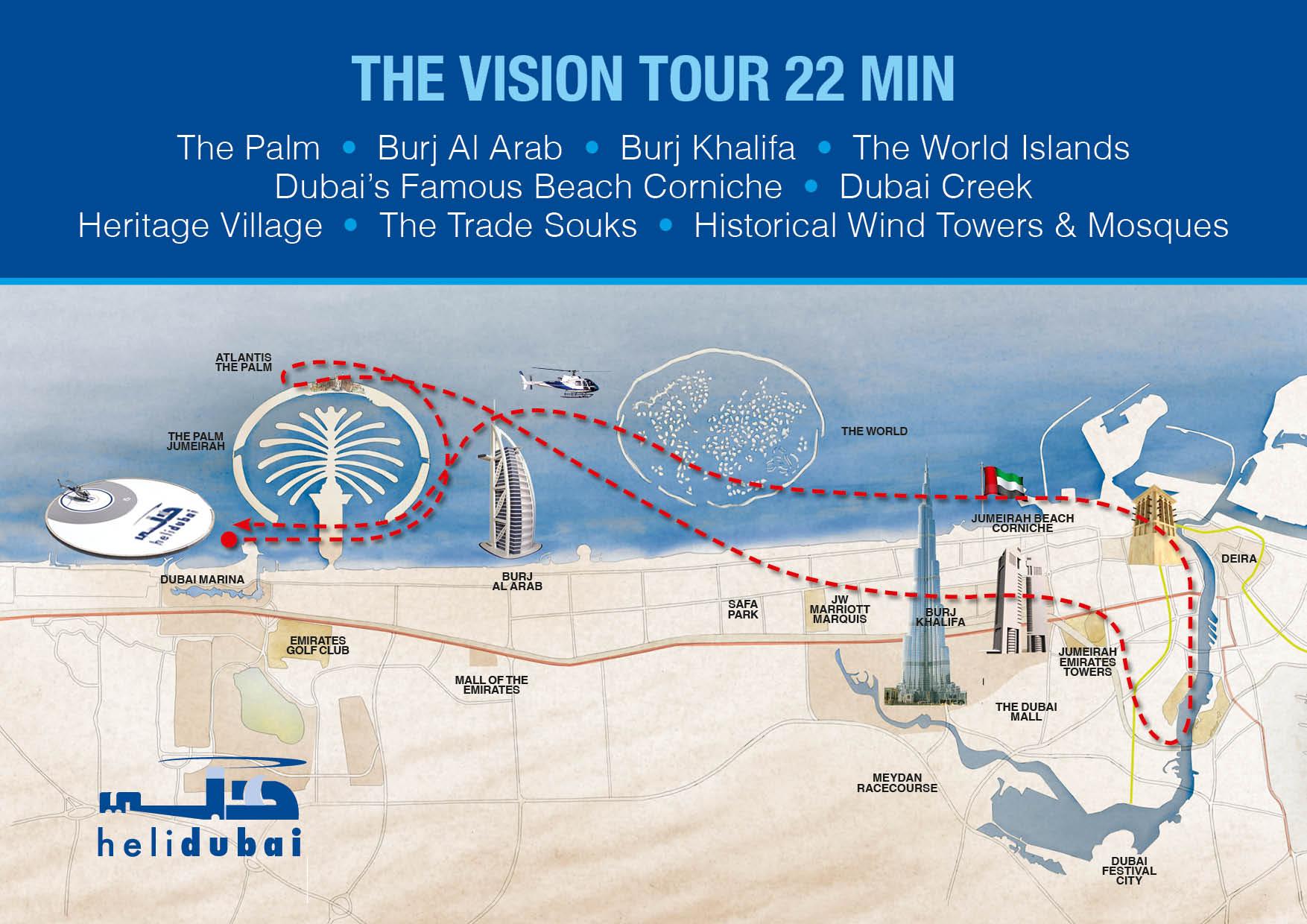 22-Minute Dubai Helicopter Tour