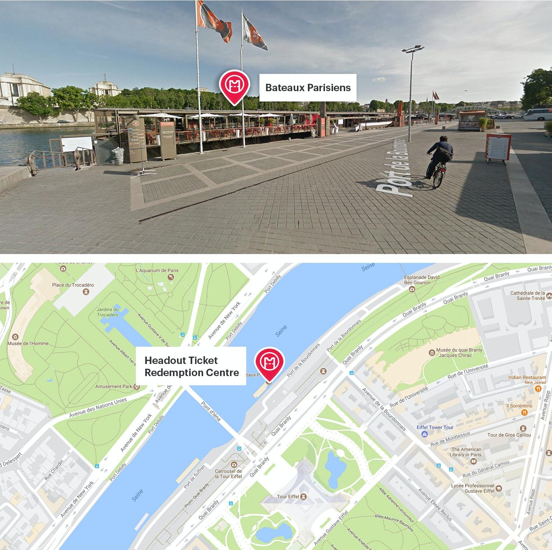 Bateaux parisiens seine river cruise best prices headout - Bateaux parisiens port de la bourdonnais ...