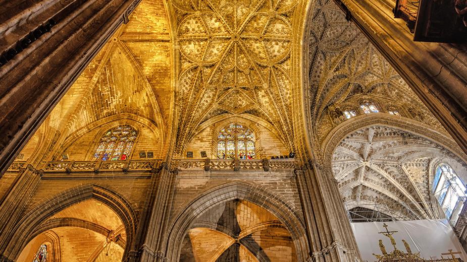 Sevilla Cathedral interior