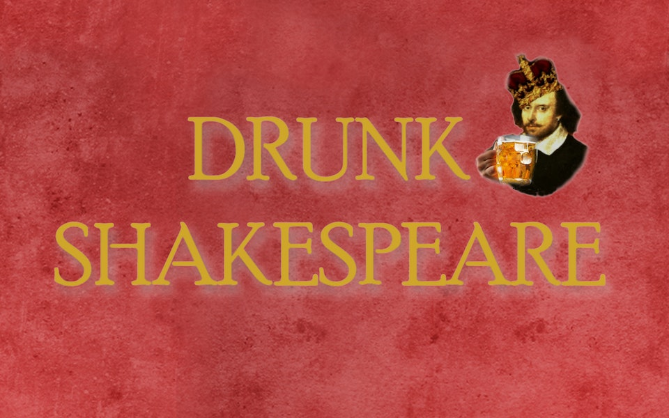 Drunk Shakespeare Show Cover Photo