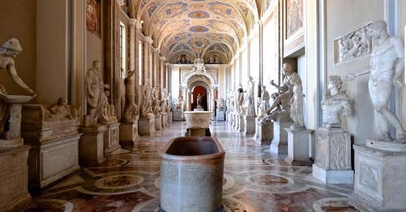 Gallery Of Statues And The Hall Of Busts Vatican Museums