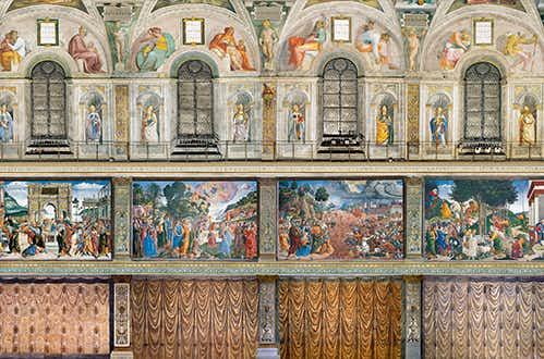 Sistine Chapel Southern Wall